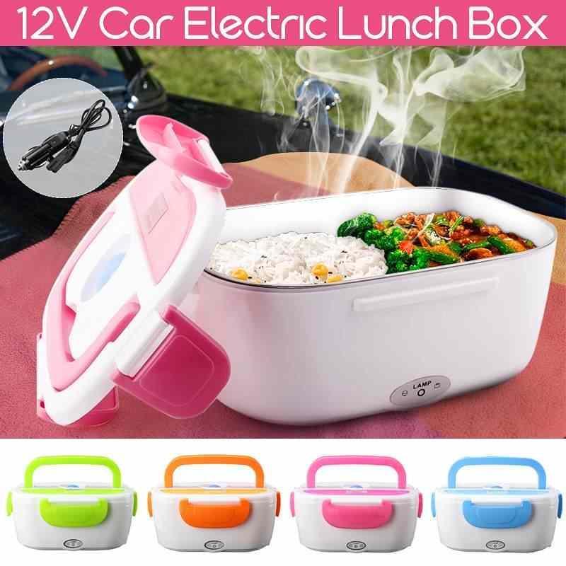 Автомобильный ланч-бокс Electronic Lunchbox с подогревом 12V