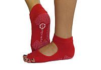 Носки для йоги нескользящие RAO Красные hubaoeU37785, КОД: 270256