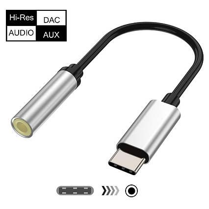 Аудио-адаптер USB от Type C до 3,5 мм USB для наушников, фото 2