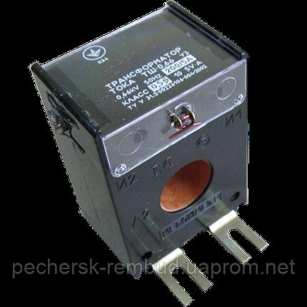 Трансформатор тока  ТШ 0,66 400/5,05s