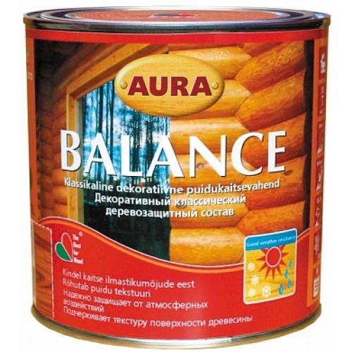 Лак алкидный Aura Balance орегон 0,7 л