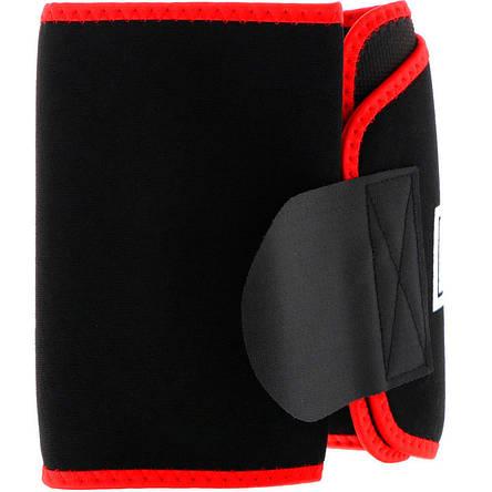 Термо - пояс Nutrex Waist Trimmer Black/Red, фото 2
