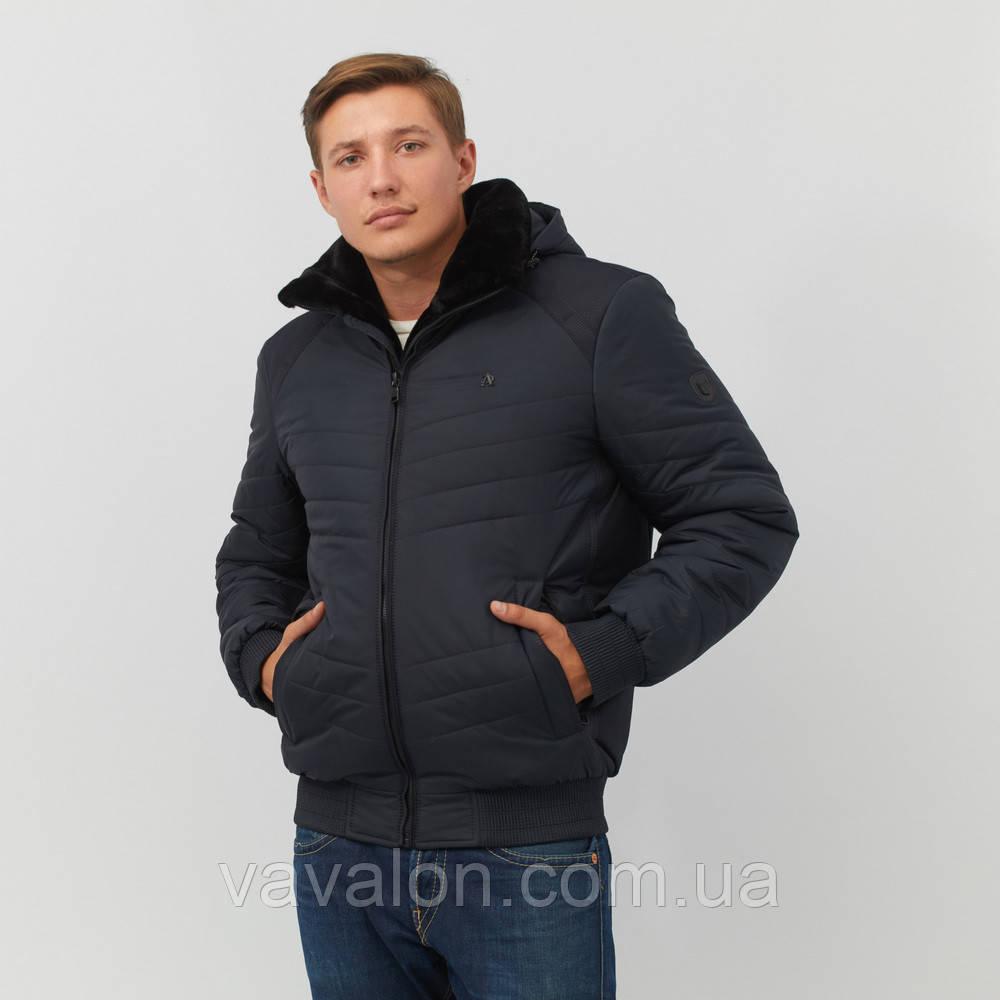 Зимняя куртка под резинку