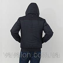 Зимняя мужская куртка Vavalon KZ-282 navy, фото 3
