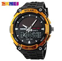 Часы с солнечной батареей SKMEI 1049, фото 1