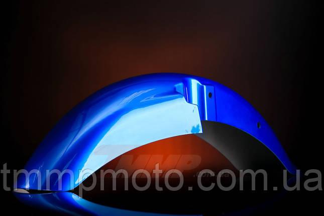 Крыло переднее синее  Minsk-SONIK-125-150, фото 2