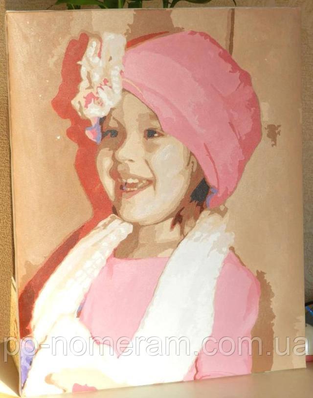 Портрет ребенка своими руками - фото готовой работы