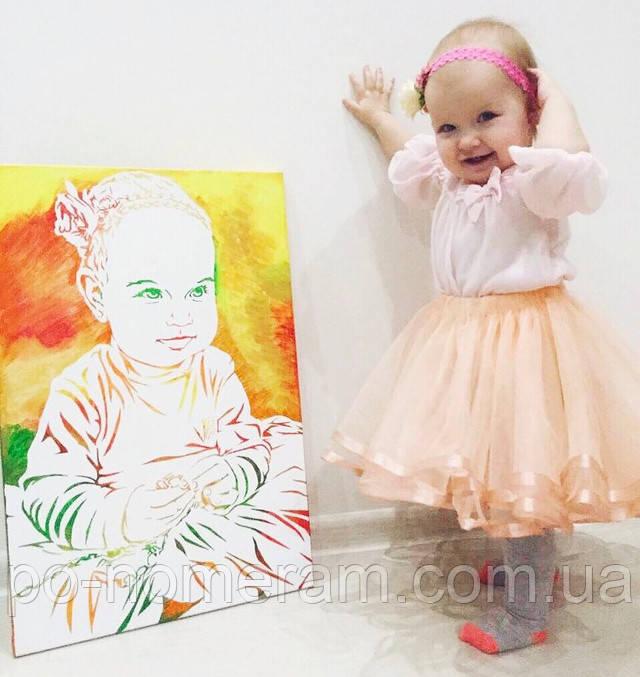 портрет ребенка флип-флоп отзыв и фото клиентки