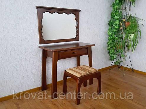 """Туалетный столик с зеркалом и пуфиком """"Версаль"""", фото 2"""