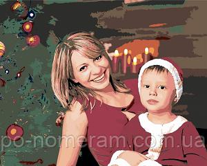 Как заказать портрет по номерам в подарок маме