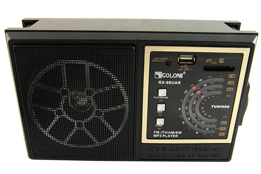 Радиоприемник Golon RX - 98 UAR (FM/ USB / SD) PR4