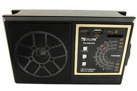 Радиоприемник Golon RX - 98 UAR (FM/ USB / SD) PR4, фото 2