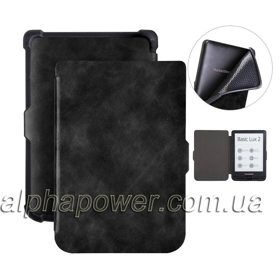 Обложка (чехол) для электронной книги PocketBook 627 Touch Lux 4 / 632 Touch HD3/ 616 Basic Lux 2 чорный