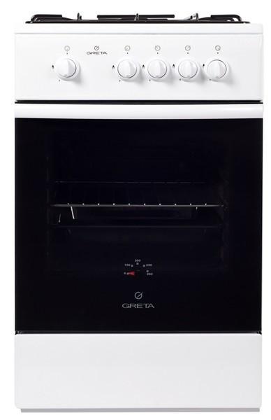 Плита газовая GRETA 1470-00/20 белая