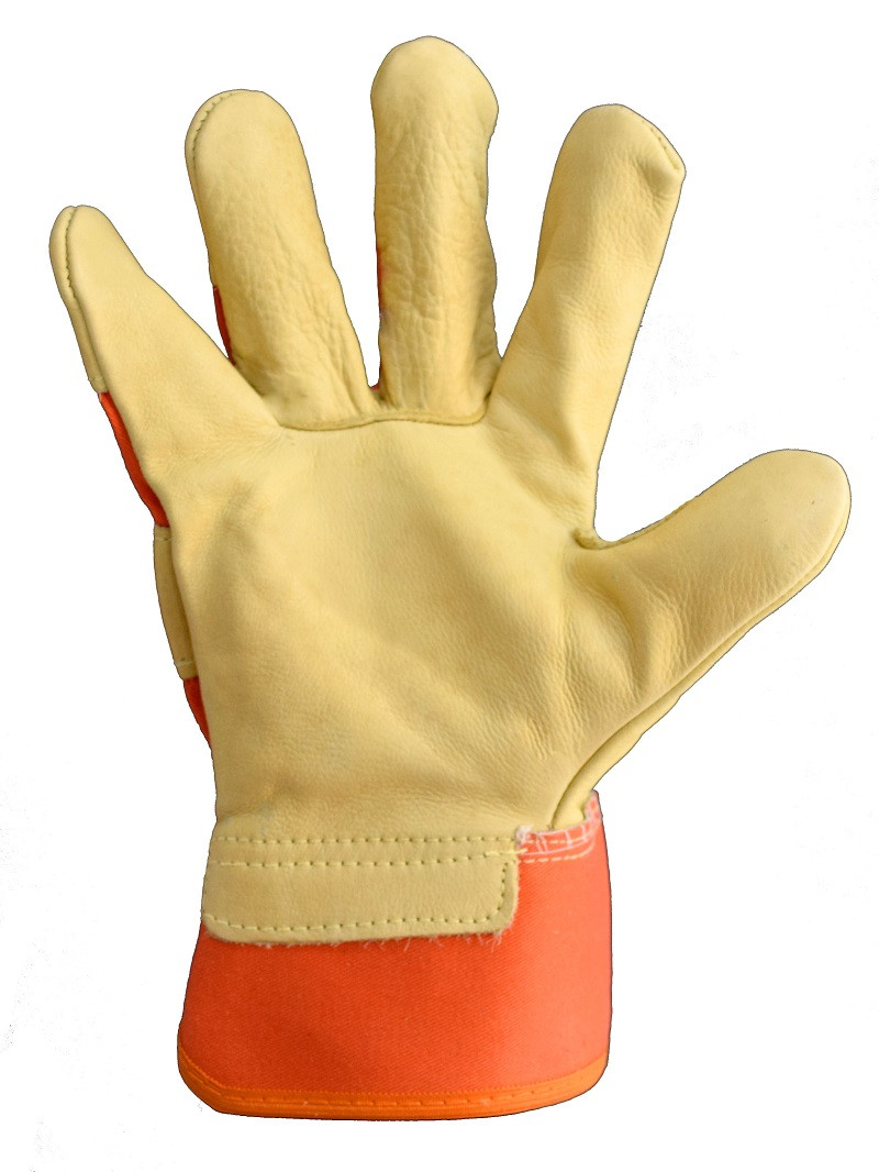 Перчатки с кожи TIGER
