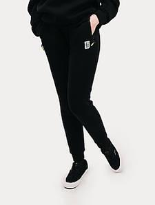 Спортивные штаны женские зимние Urban Planet W BLK черные размеры XS S M