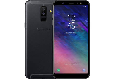 Samsung Galaxy A6 Plus Duos 2018 3/32GB Black (SM-A605F), фото 2