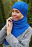 Комплект шапка и шарф , фото 9