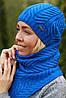 Комплект шапка и шарф женский, фото 9