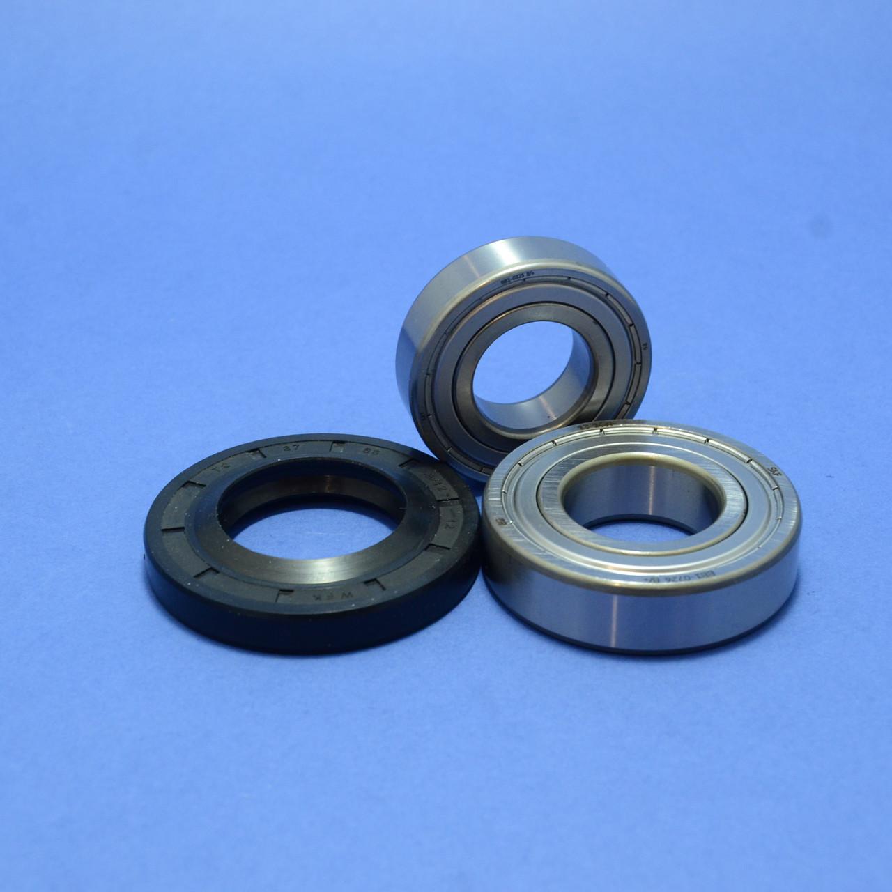 Комплект подшипников и сальник (6205+6206+37*66*9.5/12)для стиральной машины LG
