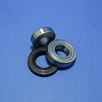 Комплект подшипников и сальник (6205+6206+37*66*9.5/12)для стиральной машины LG, фото 3