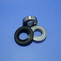 Комплект подшипников и сальник (6205+6206+37*66*9.5/12)для стиральной машины LG, фото 2