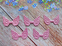 """Патчи """"Крылышки ангела"""", цвет розовый, 50х35 мм, 1 шт."""