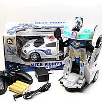 Радиоуправляемая машинка-трансформер автобот Mech Pioneer