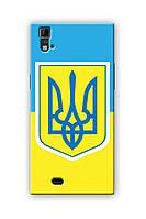 Чехол для ThL T100 (Флаг Украины)