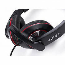 Наушники Vinga HSU040 Black USB (HSU40BK), фото 2