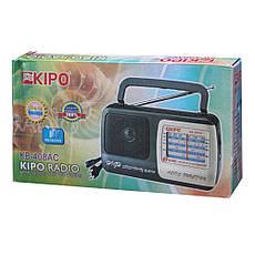 Радиоприемник KIPO KB 408 AC PR3, фото 2