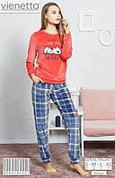 8e4cd29175a4f Пижама женская домашний костюм Vienetta плюшевая: продажа, цена в Киеве. пижамы  женские от