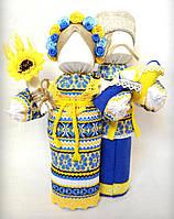Кукла-мотанка КЛЮЙ Неразлучники Ульяна и Григорий 25 см Разноцветная K0003NYG, КОД: 182768