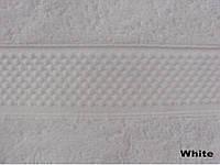 Полотенце Arya однотонное 100х150 Miranda белый 1150101
