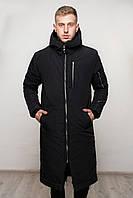 Парка мужская зимняя, пальто до -20*С / черная