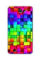 Чехол для ThL T200 (Цветные кубики)
