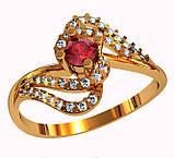 Кольцо  женское серебряное Ruby Dawn  212 400, фото 2