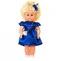 """Лялька """"МІЛАНА НАРЯДНА З СУМКОЙ"""" синя сукня (40см)"""