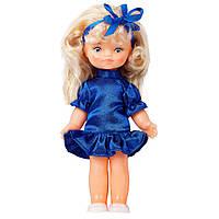 "Лялька ""ТЕТЯНКА НАРЯДНА"" синя сукня (35см)"