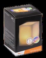 Светодиодная восковая свеча Jazz Way с радужным эффектом квадратная электронная CL3-RGB-S34, фото 1