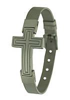 Браслет из нержавеющей стали Крест
