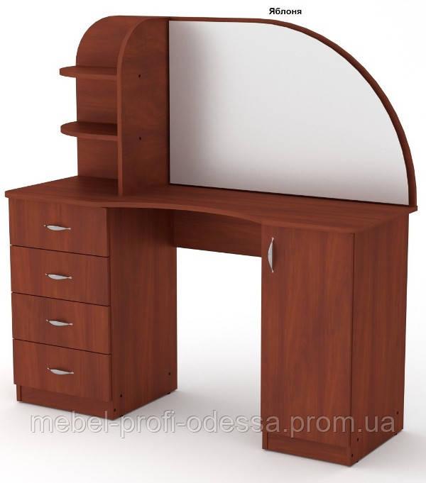 Трюмо 6, туалетный столик Компанит 1300х1300х460