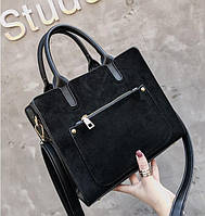 Замшевая Женская сумка в стиле Celine , Селин , фото 1