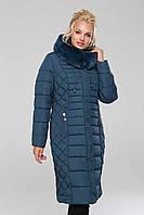 Длинное зимнее пальто Людмила, р-ры 48 - 64, ТМ NUI VERY, Украина, фото 1