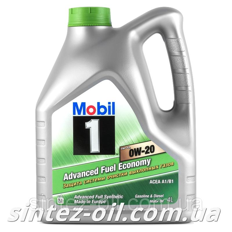 Моторне масло Mobil 1 ESP X2 0W-20 (4л)