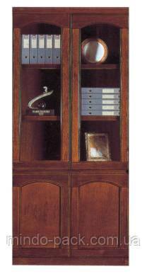 Шкаф офисный двухстворчатый в кабинет руководителя