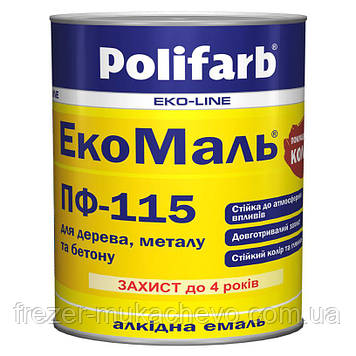 EкоМаль ПФ-115 жов.кор. 0.9 кг.