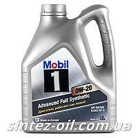 Моторне масло Mobil 1 0W-20 (4л)