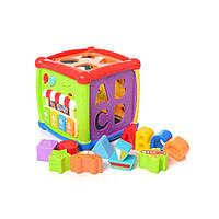 Интерактивный сортер-куб Fancy Cube HE0520R, КОД: 286720