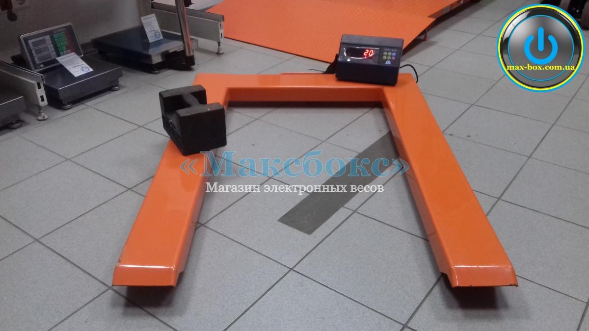 Паллетные весы на 2000 кг для евро поддонов – ВПЕ4 А12Л (Н1208) Зевс